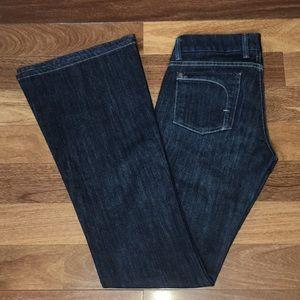 Fidelity Denim Skip Low Waist Flare Jeans - Tall